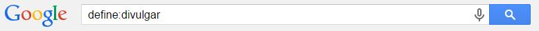 truco de busqueda en google define
