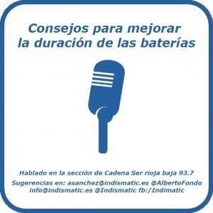 consejos para mejorar la duración de las baterías