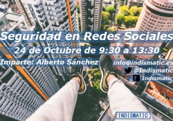 taller seguridad redes sociales alberto sánchez