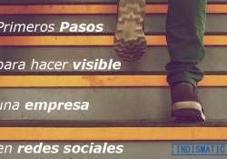 Primeros pasos para hacer visible una empresa en resdes sociales
