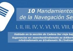 10 mandamientos de la mavegación segura