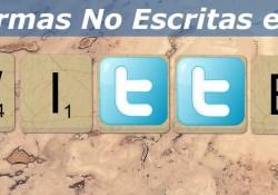 5 Normas No Escritas en Twitter
