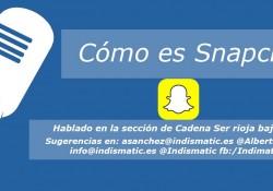 Cómo es Snapchat
