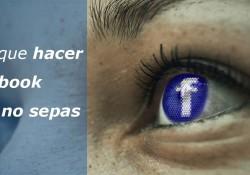 6 Cosas que hacer con Facebook y quizás no sepas