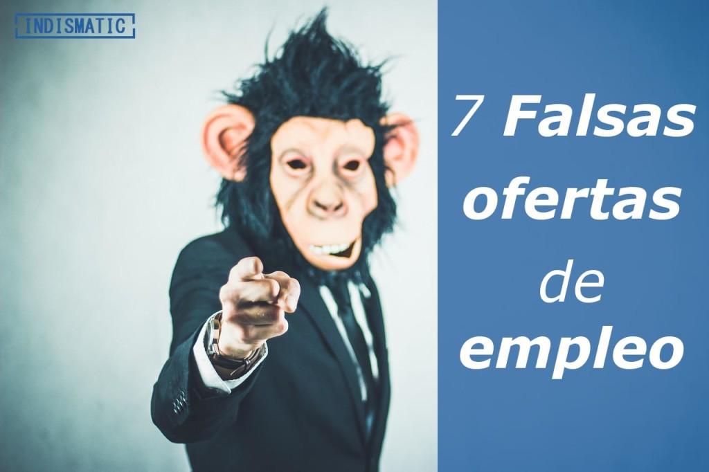 7 falsas ofertas de empleo