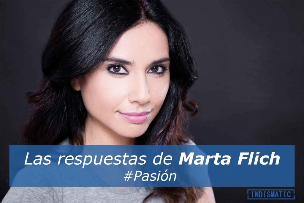 Las respuestas de Marta Flich