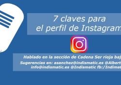 7 claves para el perfil de Instagram