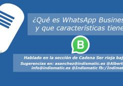 Qué es WhatsApp Business y que características tiene
