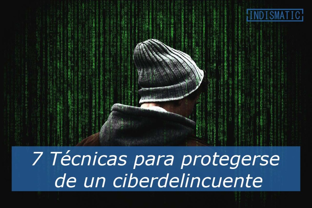 7 Técnicas para protegerse de un ciberdelincuente