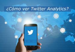 La red social Twitter nos ofrece estadísticas en el que podemos saber el impacto que tienen nuestras publicaciones, y saber que funciona mejor o peor. Y de esta manera perfeccionar nuestra actividad en twitter. A continuación podemos conocer que es lo que vemos en cada apartado dentro de Twitter Analytics.