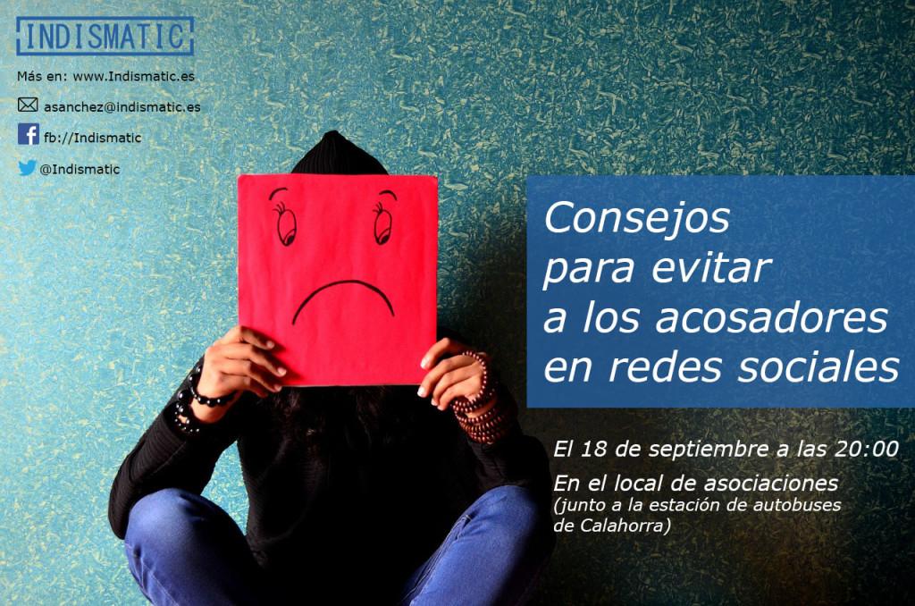 Charla Coloquio Consejos para evitar a los acosadores en redes sociales en Calahorra