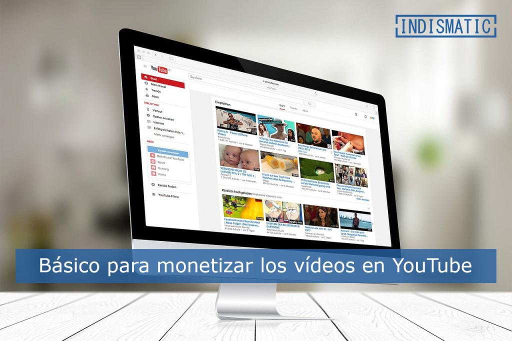 YouTube es una herramienta clara de construcción de marca y generar ingresos desde los videos que publiquemos, lo deberíamos tener muy claro que los contenidos que se suben a ella han de ser monetizarles.