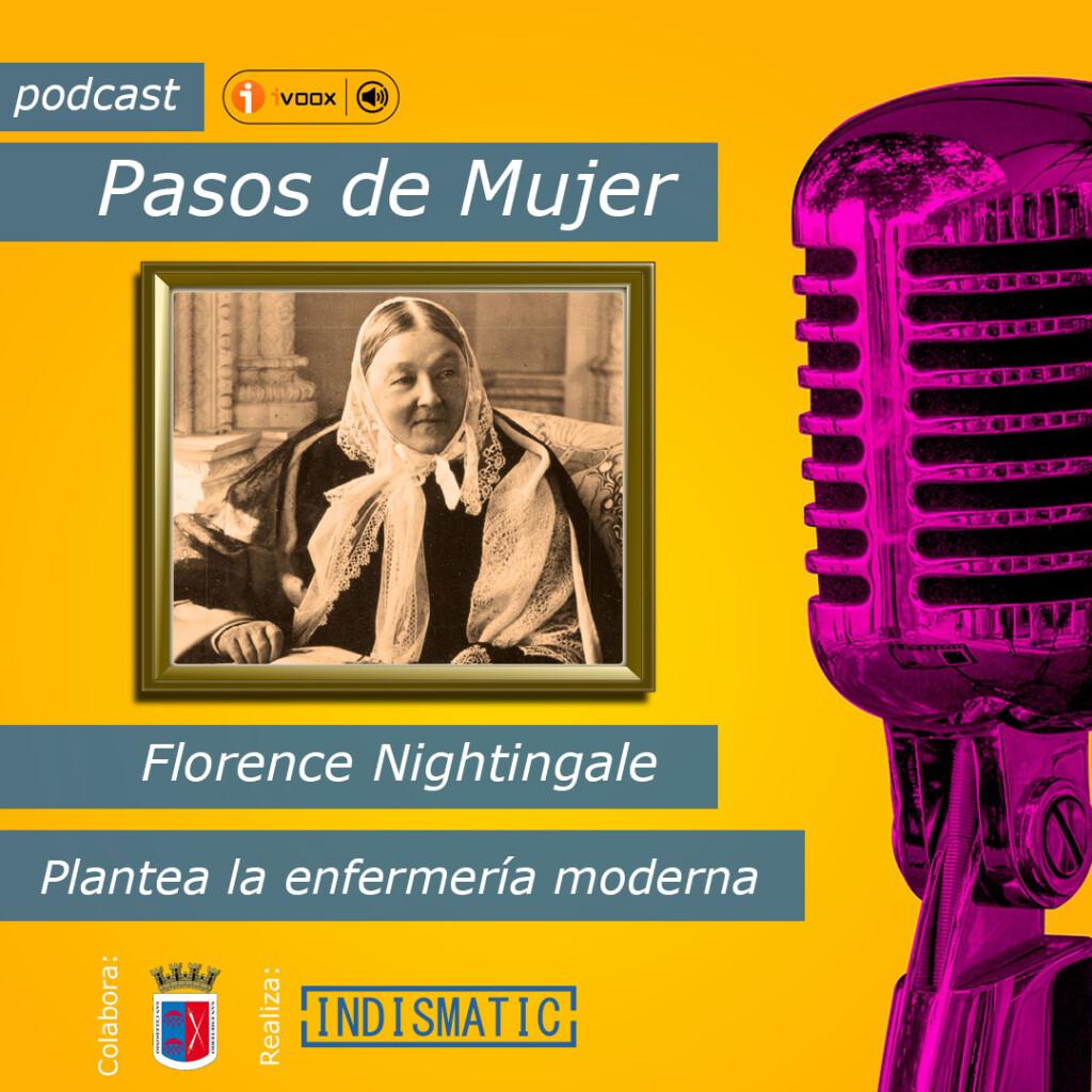 considerada cómo la creadora de la enfermería moderna. Ella es Florence Nightingale.