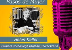 entrega, compromiso social y político, Helen Keller demostró que los discapacitados pueden llevar una vida plena e integrada en la sociedad. Logrando ser la primera sordo-ciega en graduase en la universidad y ser una escritora de fama mundial.
